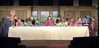 The Last Supper Reenactment